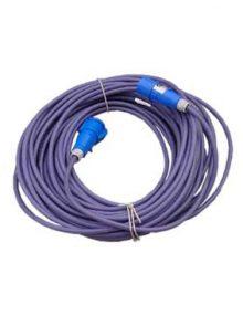 Líneas 2x50mts ficha Steck azul 2P + T (16amp)(cable 06mm C/U) SINTENAK