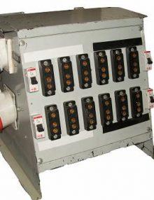 Tablero 50 Kw. c/5 llave de corte punta 3p+1n c/Terminal monofásico/trifásico DEXEL