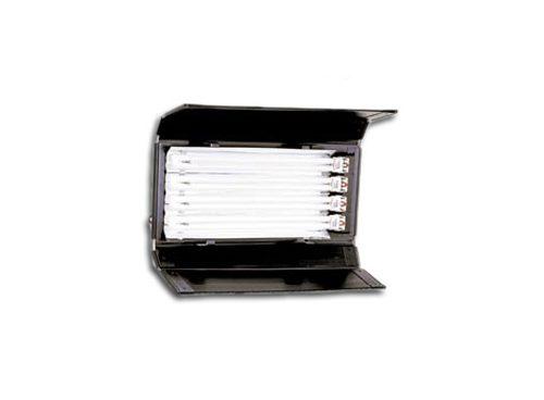 Power Flo de 4 tubos cortos s/dimer c/visera DEXEL 5600 ºK o 3200 ºK