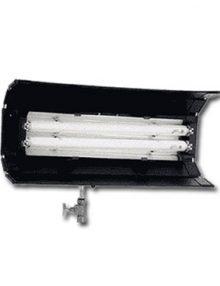 Power Flo de 2 tubos cortos s/dimer c/visera DEXEL 5600 ºK o 3200 ºK